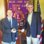 Dallas Lions Club elects new president