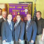 Dallas Lions Club installs officers