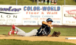 Kingston/Forty Fort pitcher's fastball too much for Back Mountain